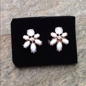 New Floral Clusters Oversized Stud Earrings